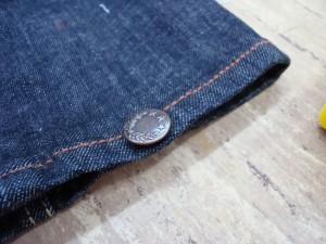 Jeansknopf befestigen