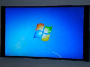 PC an TV Desktophintergrund