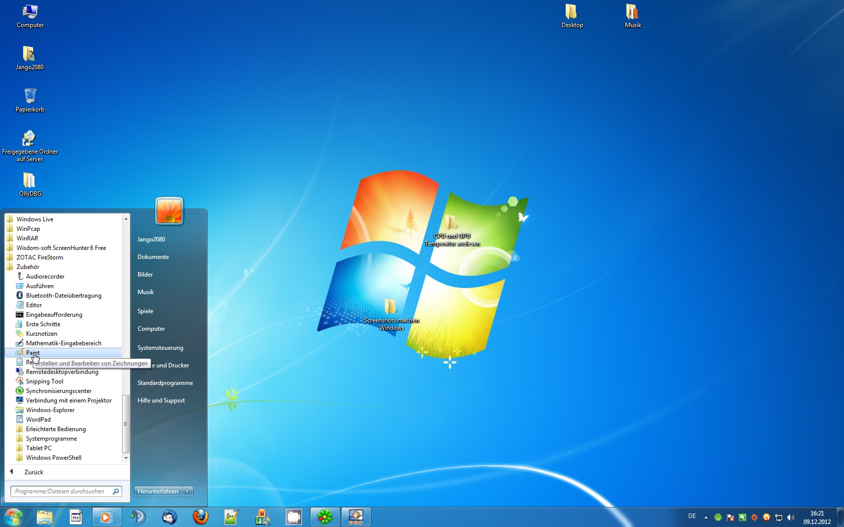 Screenshot Machen Windows 7 Programm