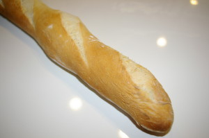 Leckeres Baguette
