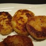 Vegetarische Gerichte: Panierter Kohlrabi