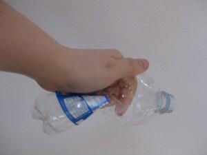 handelsübliche PET Flasche 0,5 liter