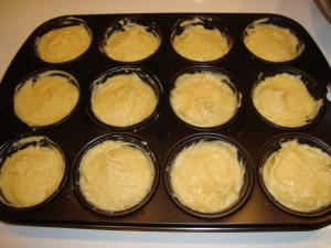 Muffins fertig zum Backen