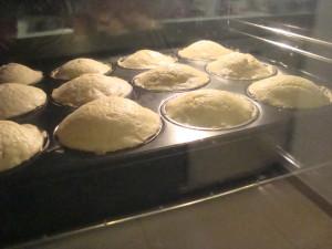 Vanille Muffins im Ofen