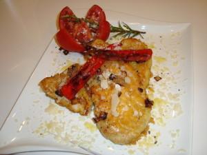 Parmesan Schnitzel angerichtet (3)