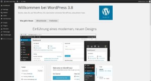 wordpress 2.8 oberflaeche