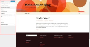 wordpress 2.8 theme individualiseren
