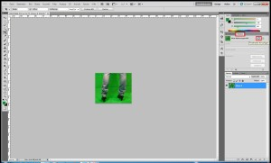 Greenscreen Tutorial Bild in Photoshop