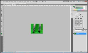 Greenscreen Tutorial Schritt 1