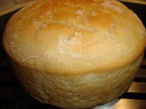 Topfbrot fertig gebacken